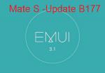 Mate S erhält Sicherheits- und Optimierungsupdate B177 [OS5.1.1][EMUI3.1] OTA mit Download